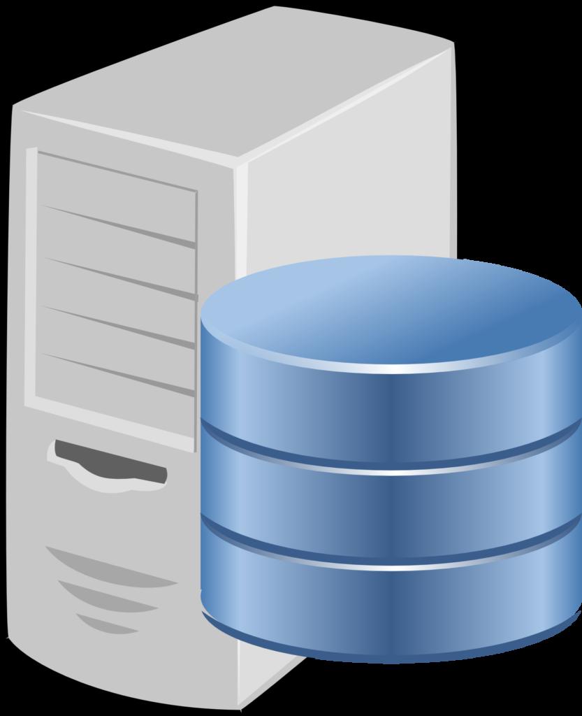 WordPress data stored in a database