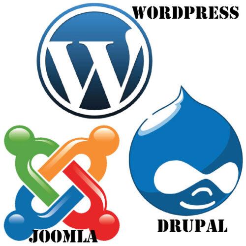 Jomla-Drupal-WordPress